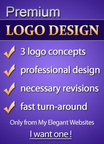 www.myelegantwebsites.com premium logo design service